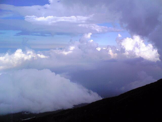 富士登山速報(その1)